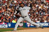 Detroit, MI - Oct. 18: Detroit Tigers v New York Yankees - CC Sabathia Photographic Print by Jonathan Daniel