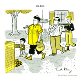 Hazel Cartoon Print by Ted Key