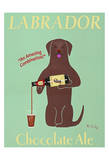 Labrador Chocolate Ale Limited Edition by Ken Bailey