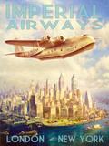 Líneas aéreas imperiales Pósters por  The Vintage Collection