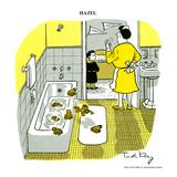 Hazel Cartoon Affiches par Ted Key