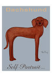Dachshund Self-Portrait Limited Edition by Ken Bailey