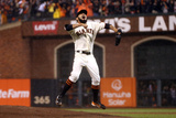 San Francisco, CA - Oct. 22: San Francisco Giants v St. Louis Cardinals - Sergio Romo Photographic Print by Ezra Shaw