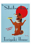 The Shiba Inu Teriyaki House Limited Edition by Ken Bailey
