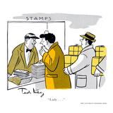 Hazel Cartoon Print by Ted Key