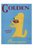 Golden Dog Shampoo Limited Edition by Ken Bailey