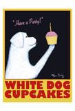 White Dog Cupcakes Édition limitée par Ken Bailey