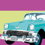 Retro Car II Affiches par Linda Wood