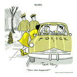 Hazel Cartoon Poster von Ted Key