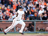 San Francisco, CA - Oct. 22: San Francisco Giants v St. Louis Cardinals - Marco Scutaro Photographic Print by Christian Petersen