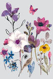Field Flowers II Posters by Sandra Jacobs