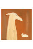 Greyhound And Rabbit Spesialversjon av Ken Bailey