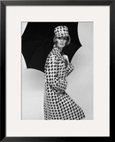 Belted Tweed Suit, Spring 1964 Framed Giclee Print by John French