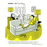 Hazel Cartoon Prints by Ted Key