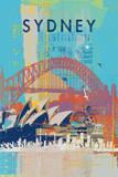 Cities V Poster von Ken Hurd