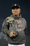 Detroit, MI - Oct. 18: Detroit Tigers v New York Yankees - Tigers Manager Jim Leyland Photographic Print by Jonathan Daniel