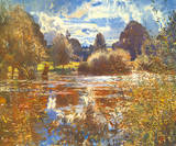The Full River Posters by Sir Alfred Munnings