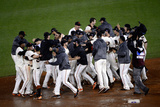 San Francisco, CA - Oct. 22: Giants v Cardinals - The San Francisco Giants celebrate Photographic Print by Thearon W. Henderson