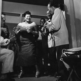 Ella Fitzgerald - 1954 Photographic Print by David W. Jackson