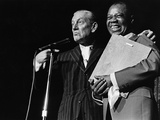 Louis Armstrong Birthday Celebration -1970 Photographic Print by Leroy Patton