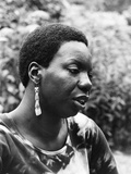 Nina Simone - 1971 Photographic Print by G. Marshall Wilson