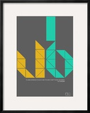 Le Corbusier Quote Prints by  NaxArt