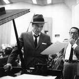 Frank Sinatra Photographic Print by Howard Morehead