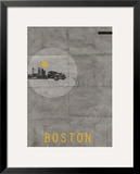 Boston Poster Posters by  NaxArt