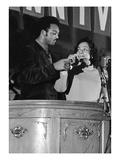 Jesse Jackson and Coretta Scott King - 1968 Photographic Print by Norman Hunter