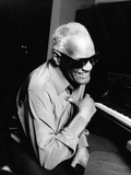 Ray Charles Photographic Print by Ken Coleman