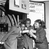 Dinah Washington, George Jenkins, Robert Grayson - 1956 Photographic Print by Isaac Sutton
