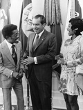Sammy Davis Jr., Richard Nixon - 1971 Photographic Print by Maurice Sorrell