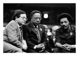 Ernest Morial, Alex Haley, Rev. Jesse Jackson Photographic Print by Michael Cheers