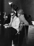 Ray Charles, Quincy Jones - 1961 Photographic Print by Moneta Sleet