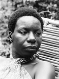 Nina Simone Photographic Print by G. Marshall Wilson