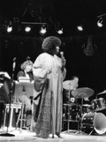 Sarah Vaughan - Chicago 1975 Photographic Print by Norman Hunter