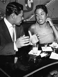 Sarah Vaughan and George Treadwell Photographic Print by Howard Morehead