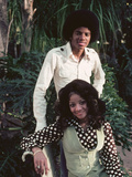 Michael Jackson; La Toya Jackson - 1976 Photographic Print by Isaac Sutton
