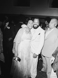 Berry Gordy and Coretta King Photographic Print by Isaac Sutton