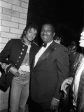 Michael Jackson; John H. Johnson - 1983 Photographic Print by Isaac Sutton