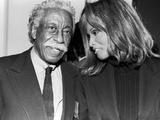 Gordon Parks, Beverly Johnson, - 1993 Photographic Print by Fred Watkins