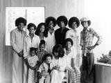 Michael Jackson, The Jackson Family - 1975 Photographic Print by Norman Hunter