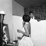 Eartha Kitt and Sammy Davis Jr. - 1954 Photographic Print by G. Marshall Wilson