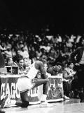 Vandell Cobb - Michael Jordan - 1986 Fotografická reprodukce