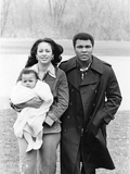Muhammad Ali and Family - 1977 Photographic Print by Ozier Muhammad