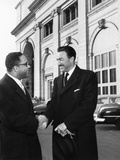 Adam Clayton Powell Jr. and Charles Diggs Jr. Photographic Print by David Jackson