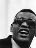 Ray Charles - 1963 Photographic Print by Howard Morehead