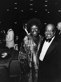 Count Basie Celebrating Birthday - 1984 Photographic Print by Moneta Sleet