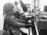 Sarah Vaughan at Piano Photographic Print by Ted Williams