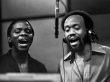 Earth, Wind & Fire - 1977 Photographic Print by Vandell Cobb